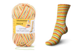 Regia Cotton Tutti Frutti Color, papaija (02417)